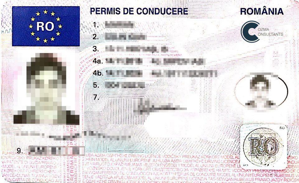 Carnet de conducere auto