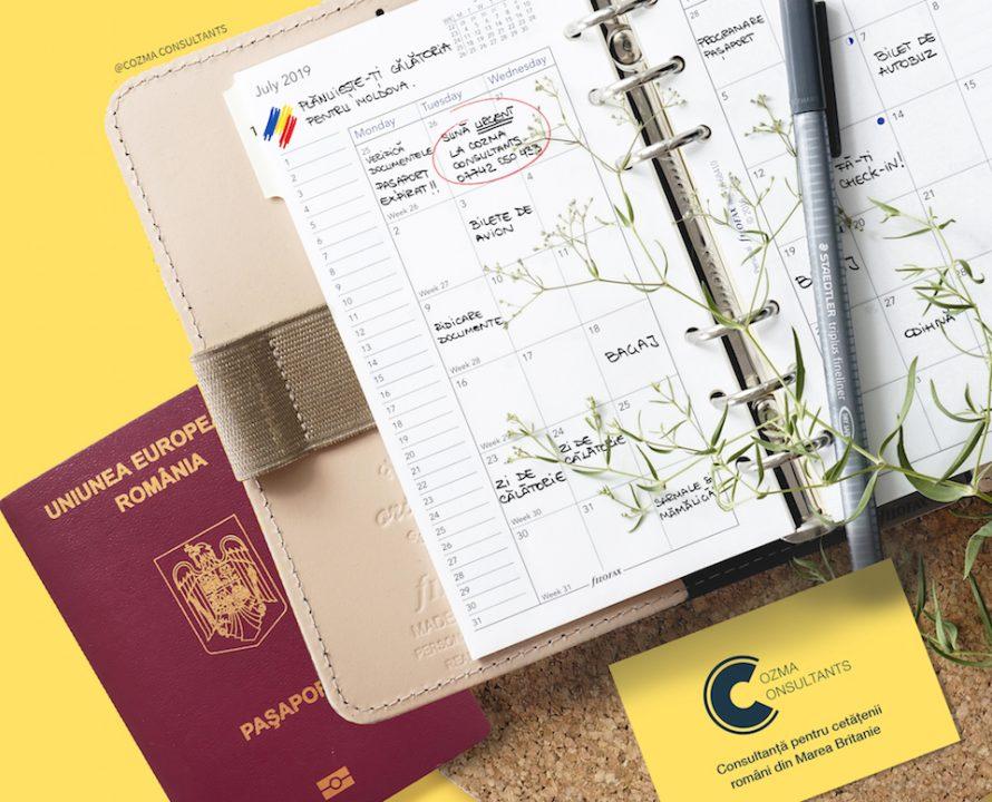 Programare pasaport adult Moldova - cozma consultants