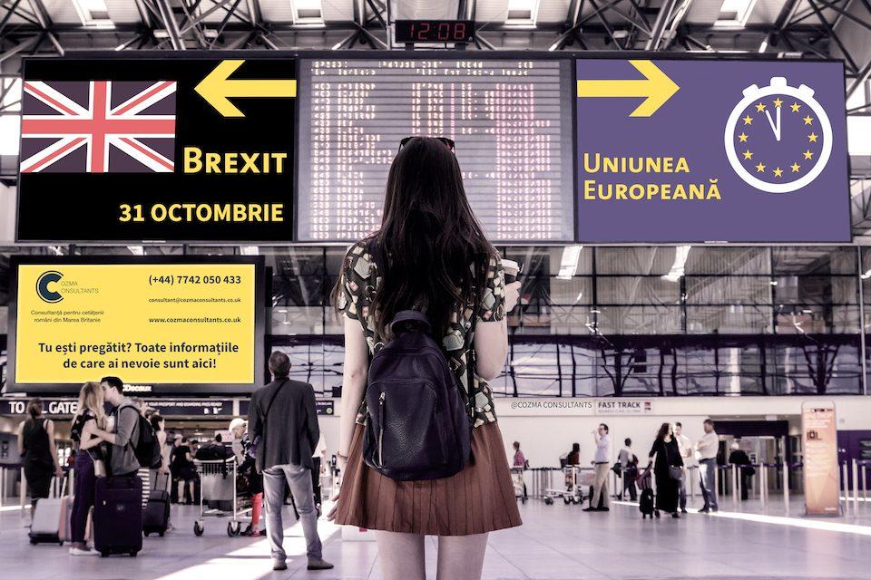 Brexit aplicatii romani UK