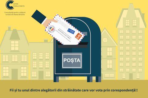 votez prin corespondență pentru Președintele României
